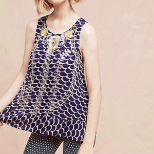 NWT Moulinette Soeurs Swing Tank | Anthropologie